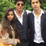 aryan-khan-with-his-father-shah-rukh-khan-and-daughter-suhana-khan