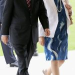 Ban Ki-moon with his wife
