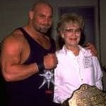Bill goldberg with mother Ethel