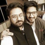 Dev Devgan with his brother Amar
