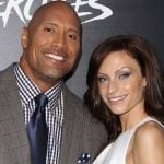 Dwayne Johnson with Lauren Hashian