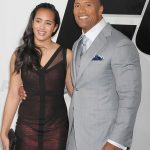Dwayne Johnson with his Daughter Simone Alexandra Johnson