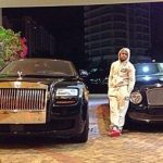 Floyd Mayweather with Bentley