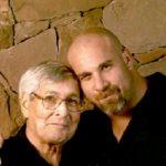 Goldberg with father Jed