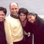 indra-nooyi-with-her-husband-and-two-daughters