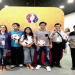 Isha Ambani And Her Family With Soccer