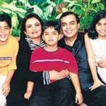 Isha Ambani With Her Family