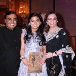 Isha Ambani With Her Parents
