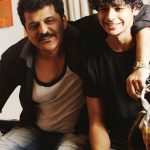 Ishaan Khattar With His Father