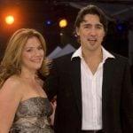 Justin Trudeau with his wife Sophie Grégoire Trudeau