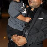 Kailash Kher with son Kabir