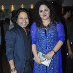 Kailash Kher with wife Sheetal Kher