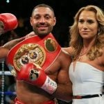 Kell Brook with his Girlfriend