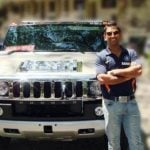 MS Dhoni Hummer 2