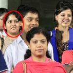 MS Dhoni's sister in red circle