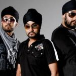 Manj Musik brothers Surjeet (right) & Late Kuldeep (Center)