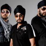 Manj Musik brothers Surjeet (right) & Late Kuldeep (Center)