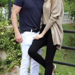 Mariam Habach with her Boyfriend Anthony Chawa