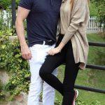 Mariam Habach with her Boyfriend Anthony Chawa