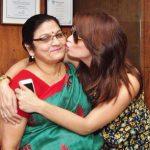 Marina Kuwar with her mother