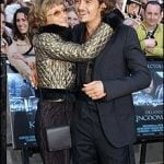 Orlando Bloom with his Mother