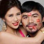 Pacquiao with Krista Ranillo