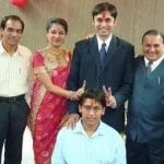 paridhi-sharma-with-her-parents-husband-and-in-laws