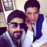 Pramod Dahiya with his brother