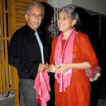 Rachna Pathak with her Husband Naseerudeen Shah