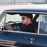 Robert Pattinson in 1963 Chevrolet Nova