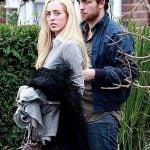Robert Pattinson with her sister Lizzy Pattinson