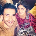 Sajal Ali with Feroze Khan