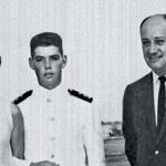 Santos with his Parents
