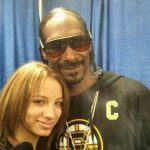 Sasha Banks with cousin Snoop Dogg