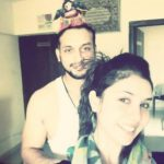 Tanu Khan with her Brother