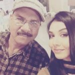 Tanu Khan with her Father