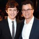 Tom with his Father Dominic