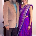 Tristin Dhaliwal with her father
