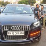 Varun Dhawan Audi Q7
