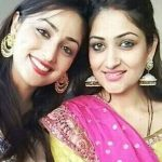 Surilie Gautam with her sister