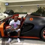Mayweather with Bugatti Veyron