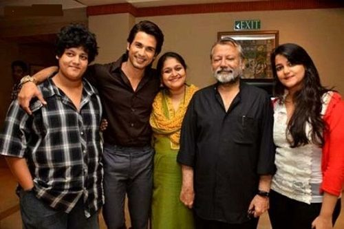 Sanah Kapoor with her family