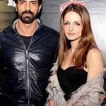 Sussanne Khan with Arjun Rampal