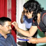 arvind-kejriwal-with-his-sister