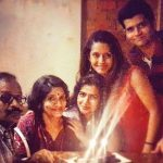 Bhavna Pani Family- Left to Right (Father>mother>sister>Bhavna>brother)