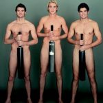 Cook and counterparts pose nude for testicular cancer awareness
