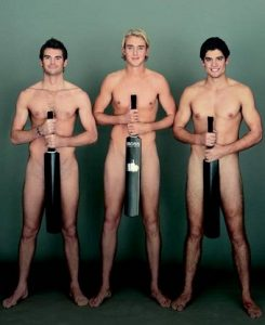 Alastair Cook-and his counterparts poseing nude for testicular cancer awareness