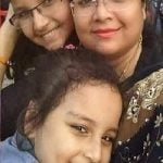 Arshiya Mother & Sister