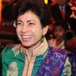 Angad Bedi step-mother Glenith Bedi