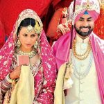 Gul Panag with Her Husband Rishi Attari
